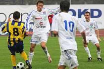 V druholigovém derby se v pátek střetla mužstva Vítkovic a Opavy.