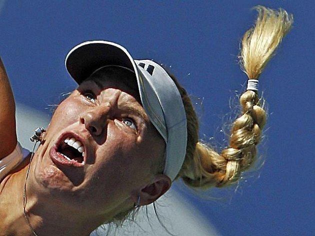 Caroline Wozniacká na US Open.