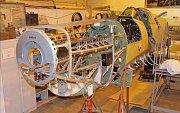 Renovace letounu Spitfire AR501: leden 2014