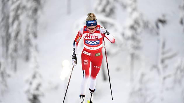 Norská běžkyně na lyžích Therese Johaugová