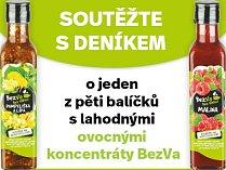 Zapojte se s Deníkem do soutěže o lahodné ovocné koncentráty