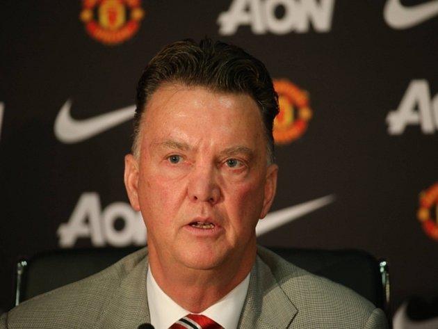 Trenér Manchesteru United Louis Van Gaal.