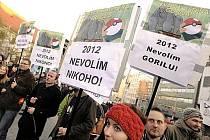 Slováci protestují proti korupci v politice