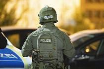 Německý policista. Ilustrační snímek