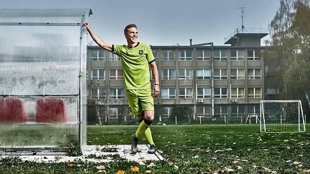 Nová venkovní varianta dresů české fotbalové reprezentace.