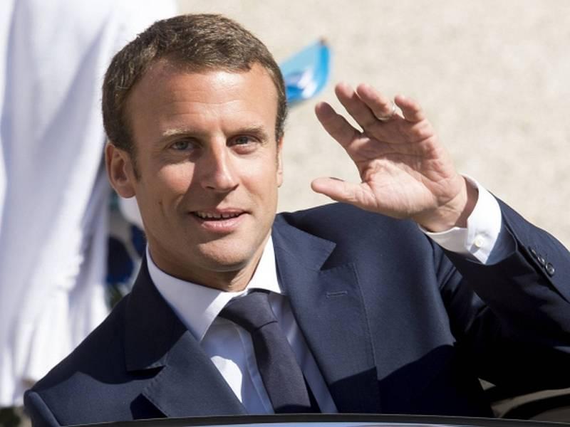 Francouzský ministr hospodářství Emmanuel Macron.