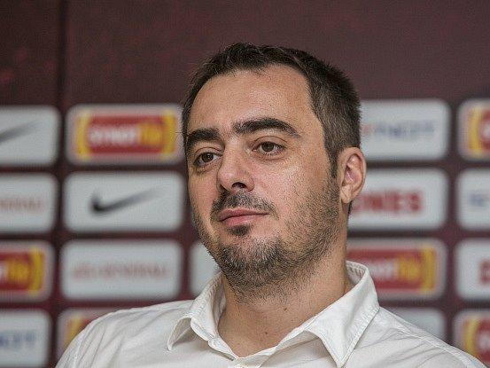 Generální ředitel fotbalové Sparty Adam Kotalík.