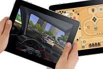 Apple iPad jako přenosná herní konzole.