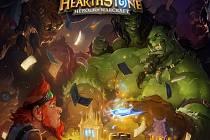 Počítačová hra Hearthstone: Heroes of Warcraft.