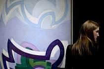 Kupkův obraz Vanoucí modře.
