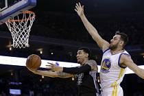 Basketbalisté Golden State dokázali porazit San Antonio