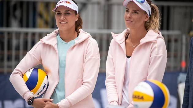 Markéta Nausch Sluková (vlevo) a Barbora Hermannová.