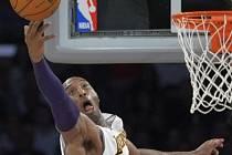 Kobe Bryant, hlavní hvězda savných Los Angeles Lakers.