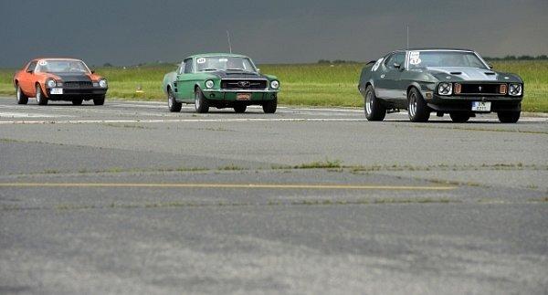 Mustangy vPraze oslavily padesátiny.