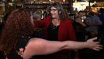 Transgender kandidátka Christine Hallquistová