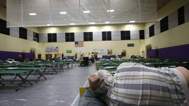Evakuační prostory na Floridě