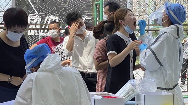Testovací centrum v Pekingu