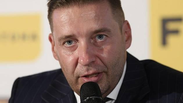 Předseda Ligové fotbalové asociace Dušan Svoboda