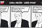 Prezidentské volby - komiks - Michal Horáček - Změním hymnu