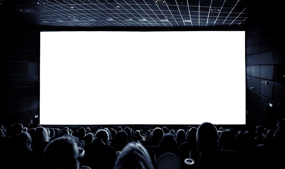 Filmový průmysl, natáčení, kinosál, kamery. Ilustrační foto
