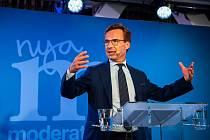Lídr švédských Umírněných Ulf Kristersson