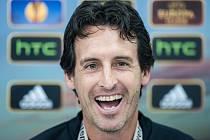 Trenér fotbalistů Sevilly Unai Emery.