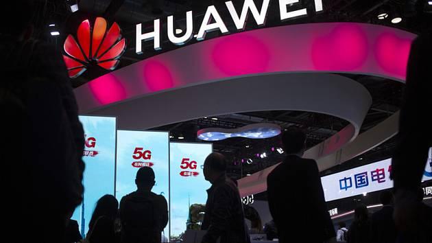 Logo čínského výrobce telekomunikačních zařízení Huawei Technologies