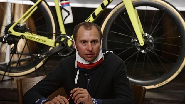 Cyklokrosař Emil Hekele
