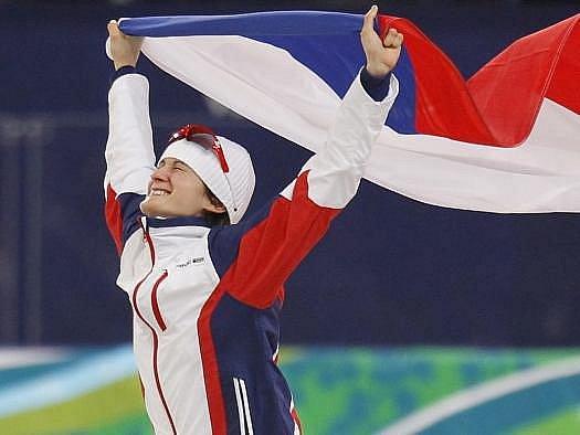 Olympijská vítězka Martina Sáblíková.