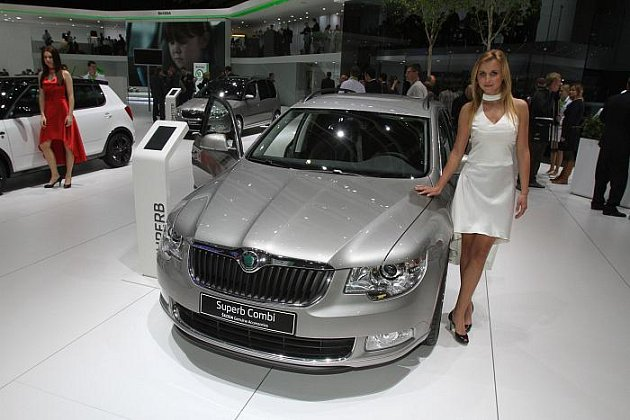 Autosalon Ženeva – Škoda Superb