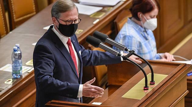 Předseda ODS Petr Fiala hovoří 16. září 2020 v Praze na schůzi Poslanecké sněmovny.