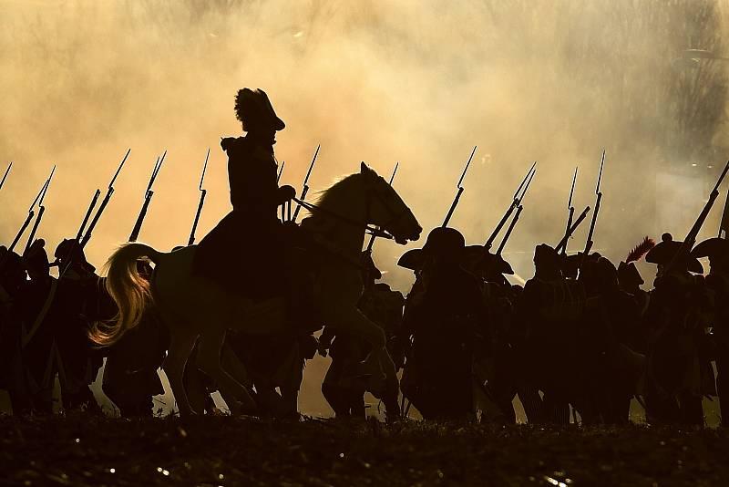 Rekonstrukce bitvy u Slavkova představuje každoročně jeden z největších projektů příznivců oživené historie, kteří se ke Slavkovu sjíždějí z celé Evropy. V roce 2020 se bohužel nekoná kvůli koronavirové nákaze