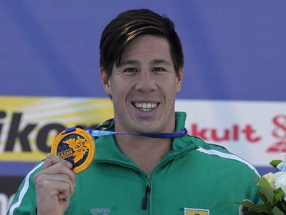 Chad Ho se zlatou medailí