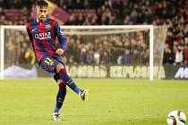 Neymar z Barcelony neproměnil penaltu proti Villarrealu.