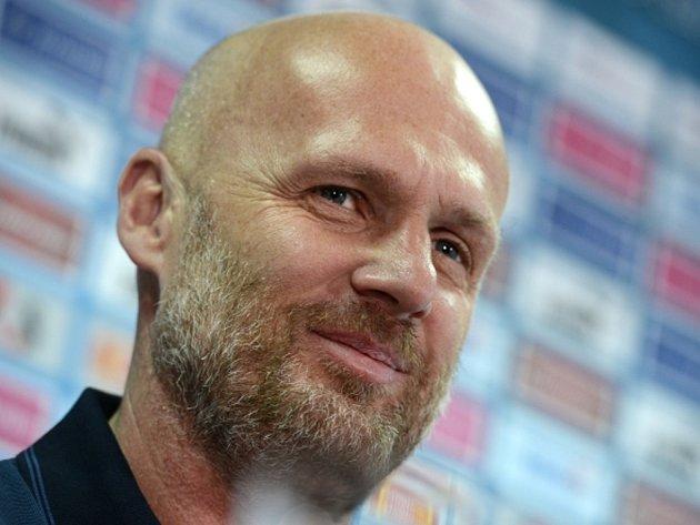 Trenér české fotbalové reprezentace Michal Bílek.