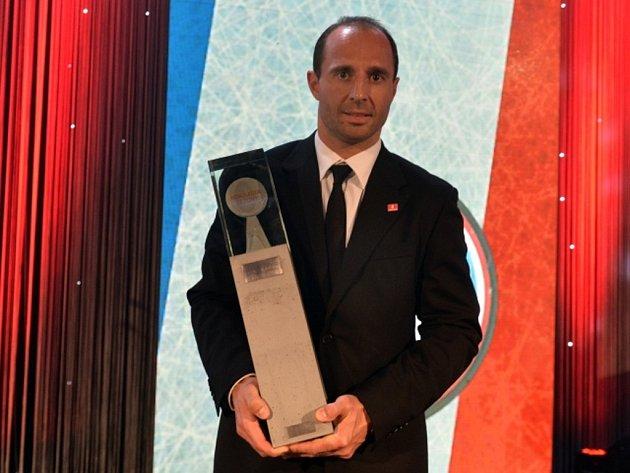 Martin Ručinský z Litvínova byl zvolen nejlepším hokejistou extraligové sezony.