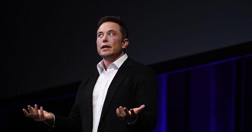 Americký miliardář a šéf Tesly Elon Musk