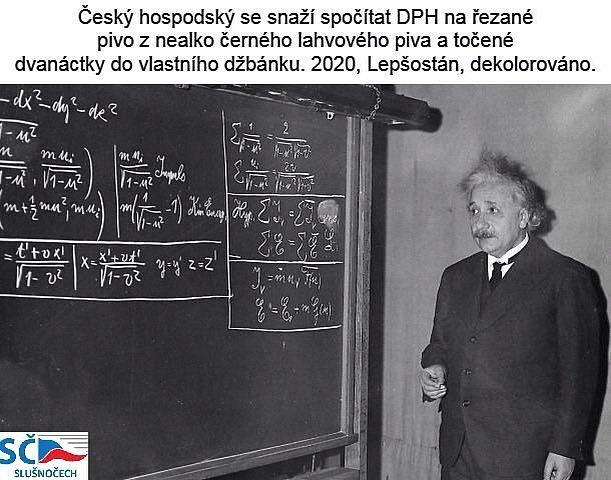 Na DPH u piva nemá ani Einstein