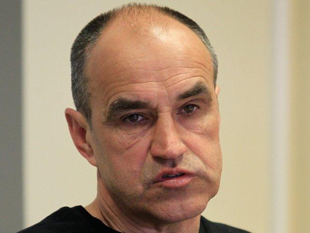 Trenér fotbalistů Brna Václav Kotal.
