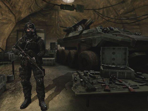 Počítačová hra Mercenary Ops.