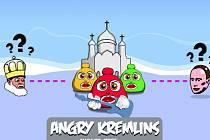 Angry Kremlins je nová verze jedné z nejpopulárnějších elektronických her Angry Birds. Objevila se nedávno na internetu jako protest proti odsouzení tří ruských punkových zpěvaček skupiny Pussy Riot.