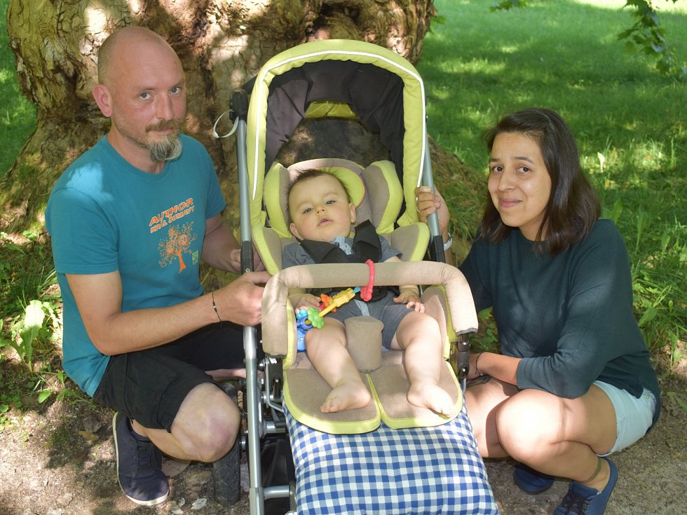 Malý Tadeáš trpí spinální svalovou atrofií