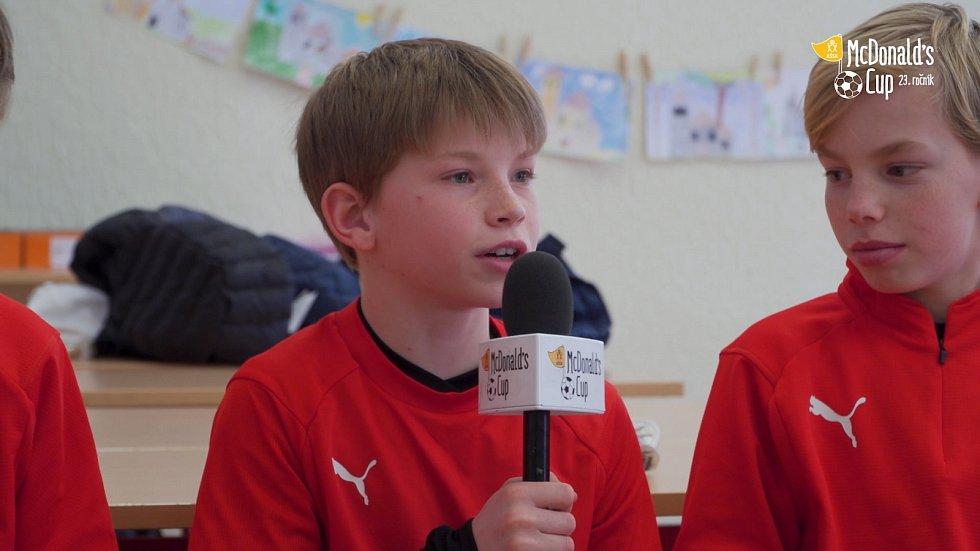McDonald's Cup: Jindřich Trpišovský na ZŠ Eden