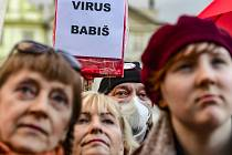 Pražský protest za obranu demokracie