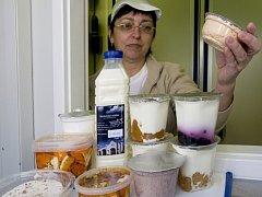 Mléčné výrobky. Ilustrační foto.