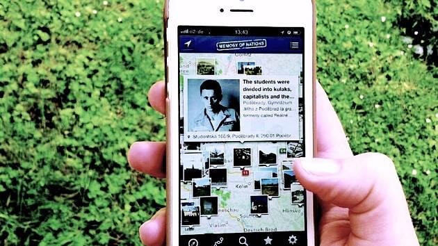Aplikace obsahuje stovky autentických nahrávek s vyprávěním pamětníků a představuje místa, kde se odehrály významné události našich dějin.