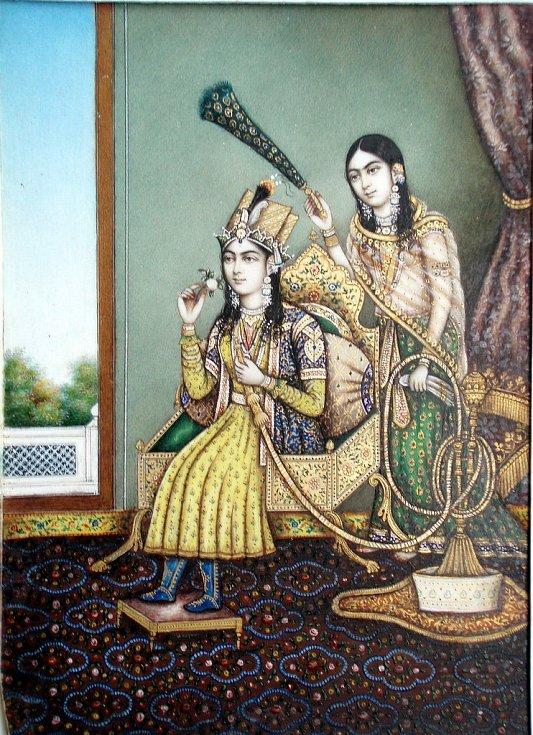 Císařovna Mumtáz Mahal byla nejmilovanější ženou vládce Mughalské říše. Po její smrti pro ni jako znak věčné lásky nechal vybudovat mauzoleum Tádž Mahal.