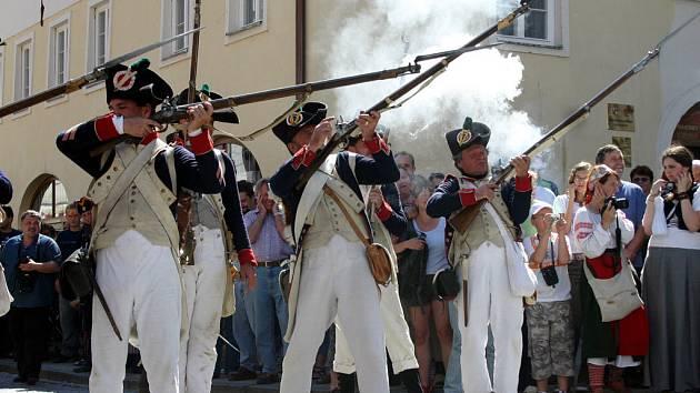 Napoleonovo vojsko vzalo Mikulov útokem