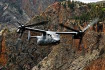 Konvertoplán V-22 Osprey, který se stal předlohou stavebnice Lego.