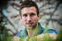 Český badmintonista Petr Koukal.